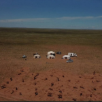 View over Gobi desert pasture-1