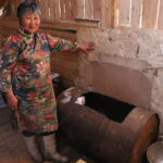 Baasan's dairy storage