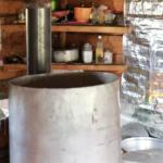 Making milk vodka-1